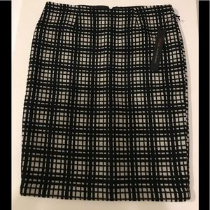 NWT Willi Smith Wool Skirt size 8